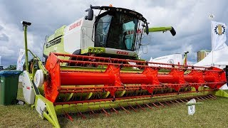Tarwe oogst 2017 met CLAAS Lexion 770 tt. Landb. Westerhof Woldendorp.