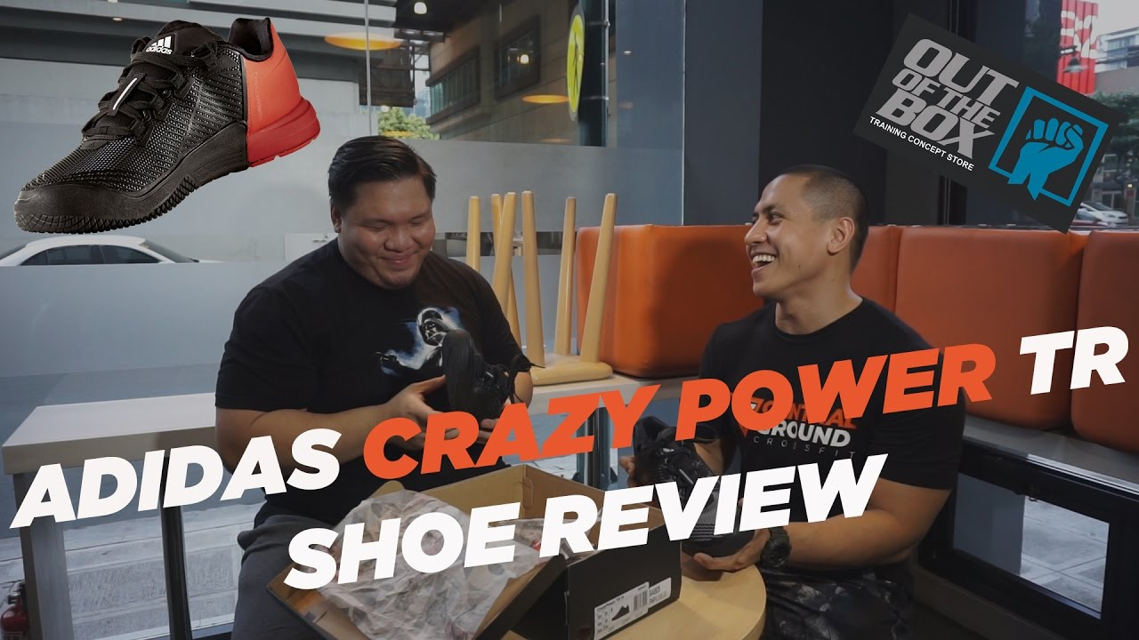 b19d7d32b3eb ADIDAS CRAZY POWER TR SHOE REVIEW - YouTube