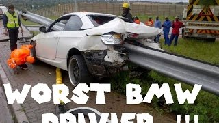 Worst BMW Driver CRASH & FAILS