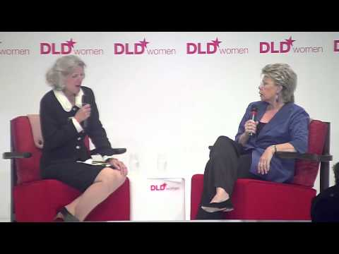 Friends (Viviane Reding, EU Commissioner & Candace Johnson, Europe Online) | DLDwomen 12