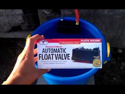 Little Giant Trough O Matic Float Valve Review Youtube