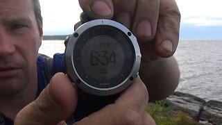 Мои новые часы Suunto traverse SS021843000  Предварительный обзор.