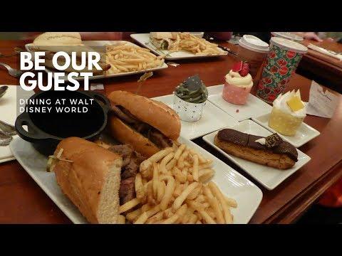 Be Our Guest Restaurant - Disney Dining in Fantasyland Magic Kingdom