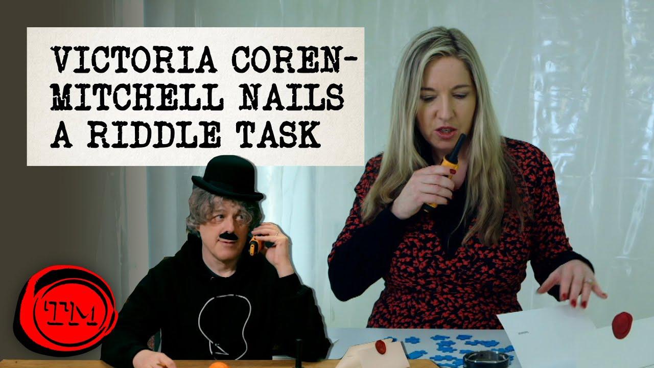 Download Victoria Coren-Mitchell SMASHES this Riddle Task   Taskmaster