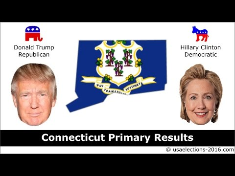 Connecticut Primary Result 2016 : US Election 2016