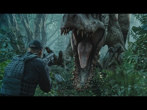 5 Clips from JURASSIC WORLD poster