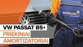 VW PASSAT Amortizatorius keitimas: instrukcija