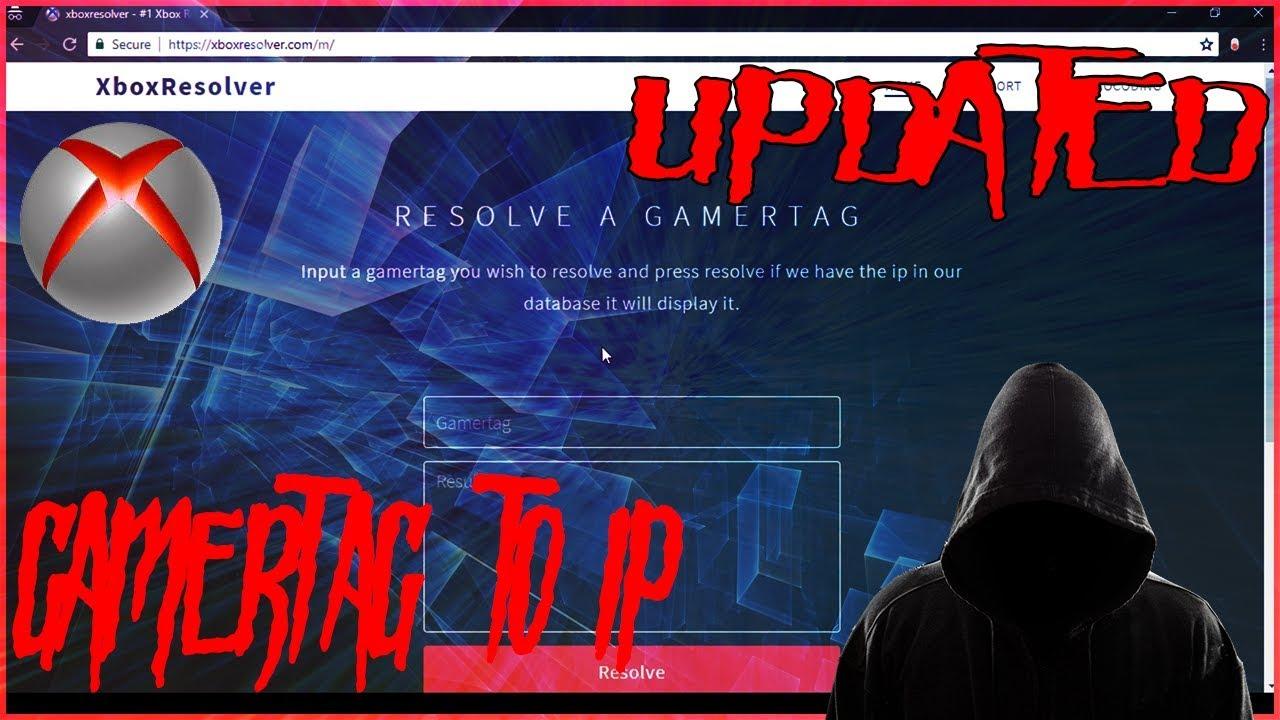 FREE Xbox Resolver Gamertag to IP Address 2019 WORKING [UPDATED]