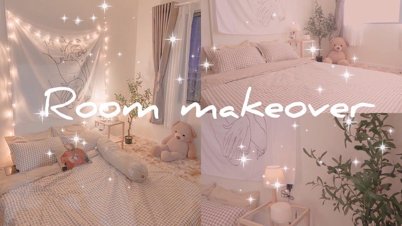 Room Makeover Trang Tri Phong Ngủ Kiểu Han Quốc Gia Rẻ Từ Shopee Korean Bedroom Decor Trang Cung Cấp Những ảnh Phong Ngủ Mẫu Xinh Nhất Tin Tức Khach