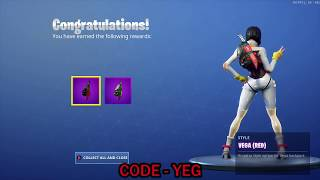 "UNLOCKING *NEW* VEGA RED & TEAL ""GO BAG"" BACKBLING on Fortnite Battle Royale Season 9"