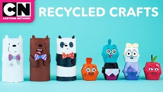 We Bare Bears | DIY Recycled Crafts | Cartoon Network | LET