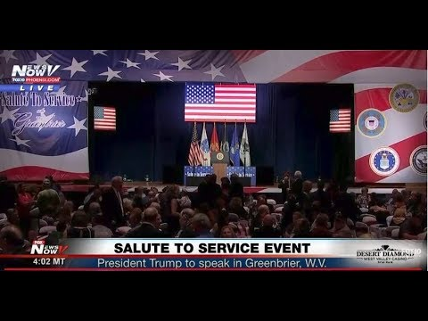 FNN: President Trump at Salute to Service Event, Fireworks displays across the U.S.