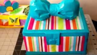 Dollar Tree Products Used For Crafting A Jewelry/trinket Box