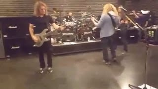 Megadeth Rehearsing a New Song 'Fatal Illusion' Mp3