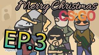 De dibujos animados de CS:GO EP.3 Feliz Día De Navidad