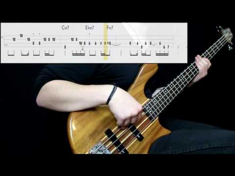 BADBADNOTGOOD - In Your Eyes (feat. Charlotte Day Wilson) (Bass Cover) (Play Along Tabs In Video)