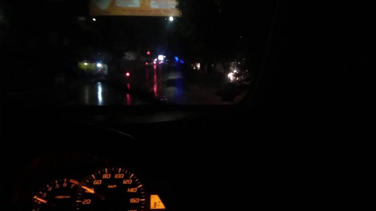 Story Wa Nyetir Mobil Malam Hari Saat Hujan Youtube