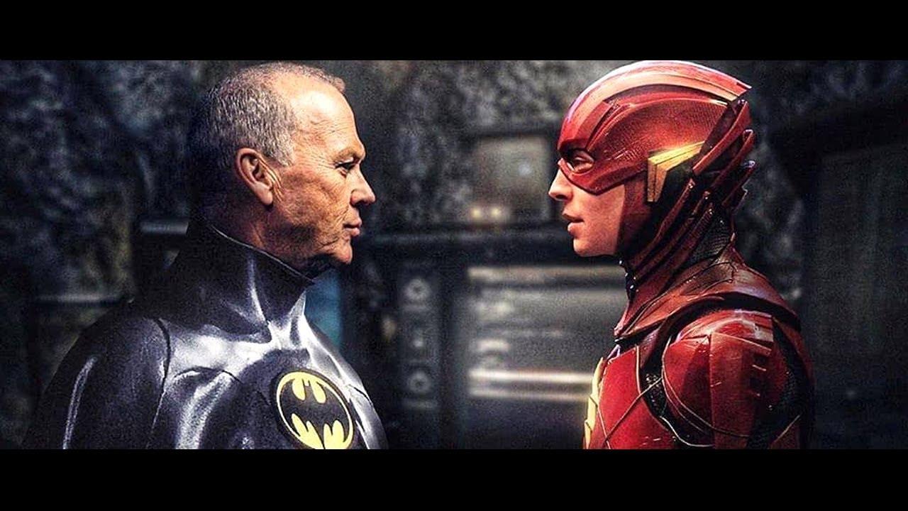 The Batman Michael Keaton Clip Breakdown - Justice League The Flash Movie Easter Eggs