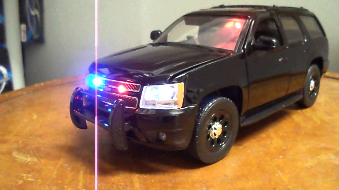 1/24 SUV Chevy Tahoe Special Service FBI CIA LAPD NYPD ...