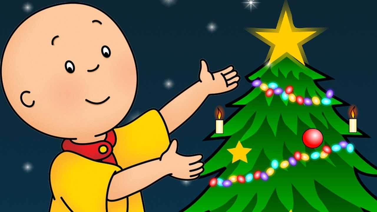 Caillou Francais Noel Approche Caillou Holiday Movie