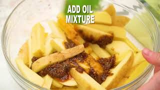 Ultimate Oven Baked Poтato Wedges