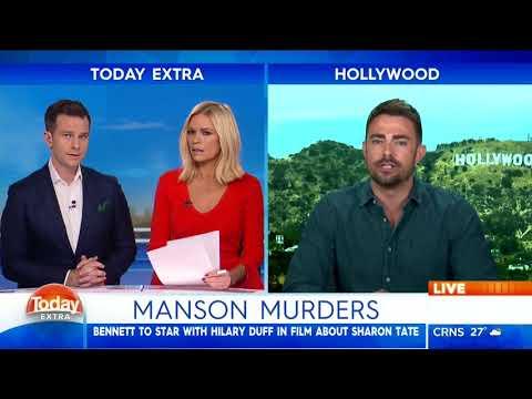 Jonathan Bennett Live on Today Extra 2018