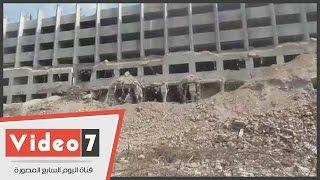 بالفيديو.. استمرار عمليات هدم وإزالة مبنى المجلس القومى للمرأة بالتحرير