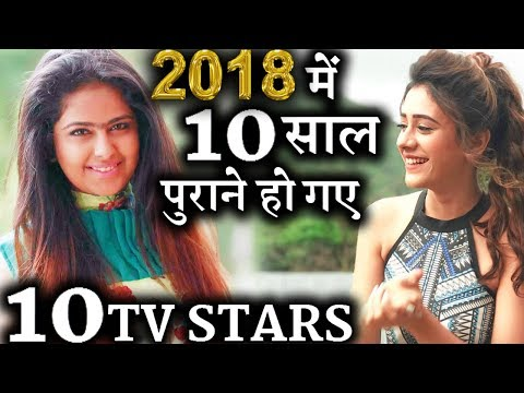 TV Celebs who completed 10 years in TV Industry in 2018
