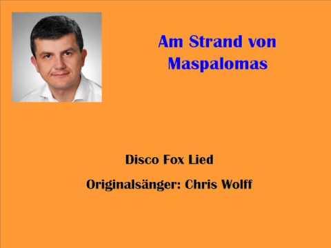 Lied von maspalomas am strand Deutsche Sommerhits: