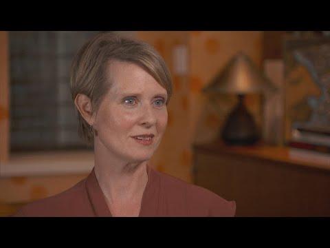 Cynthia Nixon takes to the political stage