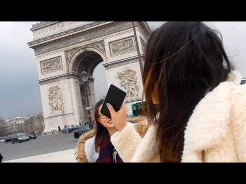 Visite de Paris, Arc de Triomphe, Notre dame ...