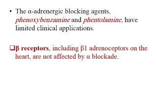 Adrenergic Antagonist 2020