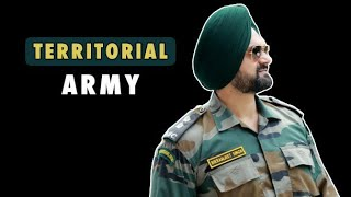 TA Role In Indian Army | Honour & Achievements Of TA