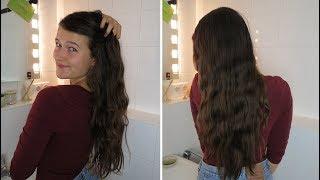1 Jahr ohne Shampoo/ No Poo | Water only Haarroutine