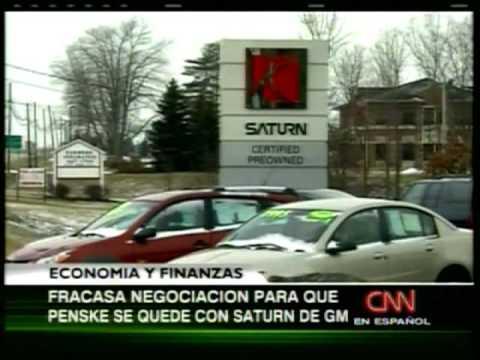 General Motors se desprende de su marca Saturn