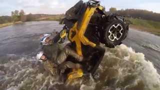 Квадроциклы // Покатушки // Yamaha Grizzly ATV VS Brp XMR(, 2014-10-16T21:16:02.000Z)