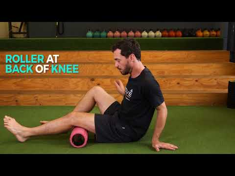 Foam Rolling for Recovery after Gym or Run