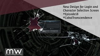 #KR #EP18 New Login and Character Selection/Creation Screen