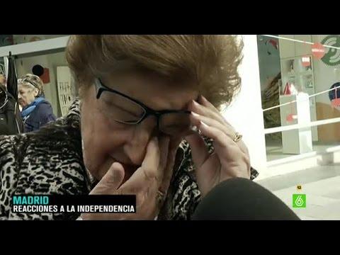 Así reaccionan los ciudadanos españoles al conocer que Cataluña se independiza