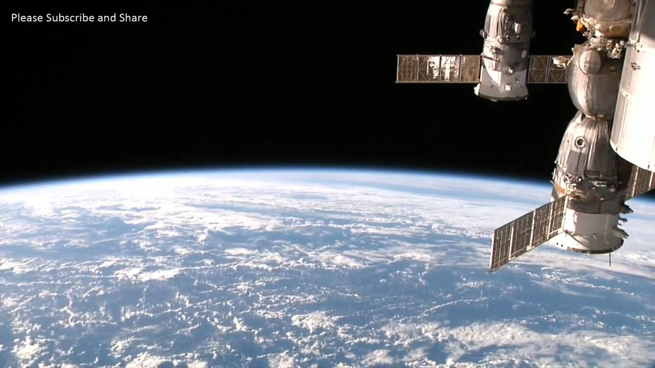 Earth From Space Footage From The International Space