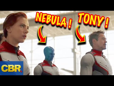 What Tony Stark And Nebula's Appearance Really Means In Marvel Avengers Endgame Trailer