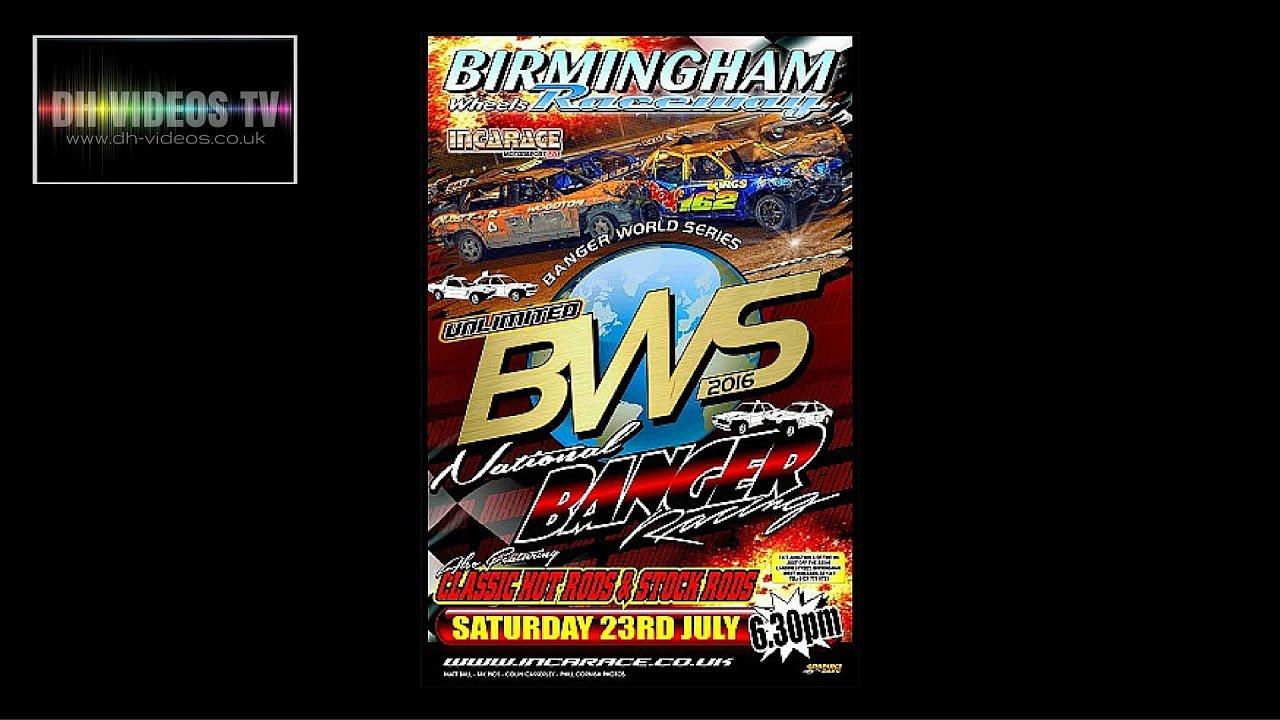 BWS Round 5 - Wilcard Race - Birmingham - 23 July 2016