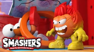 Introducing the SMASHERS! | Kid's TV | Smash Bus Basketball Court | Toy Videos