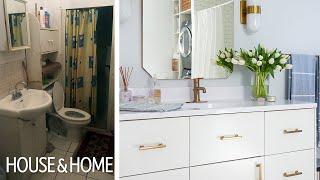 Makeover: An Unbelievable Bathroom Overhaul