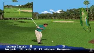 PGA Tour 97 PS1 Gameplay HD