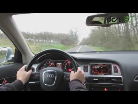 Audi A6 Allroad Quattro 4.2 FSI V8, 350 hp High Speed Cruising