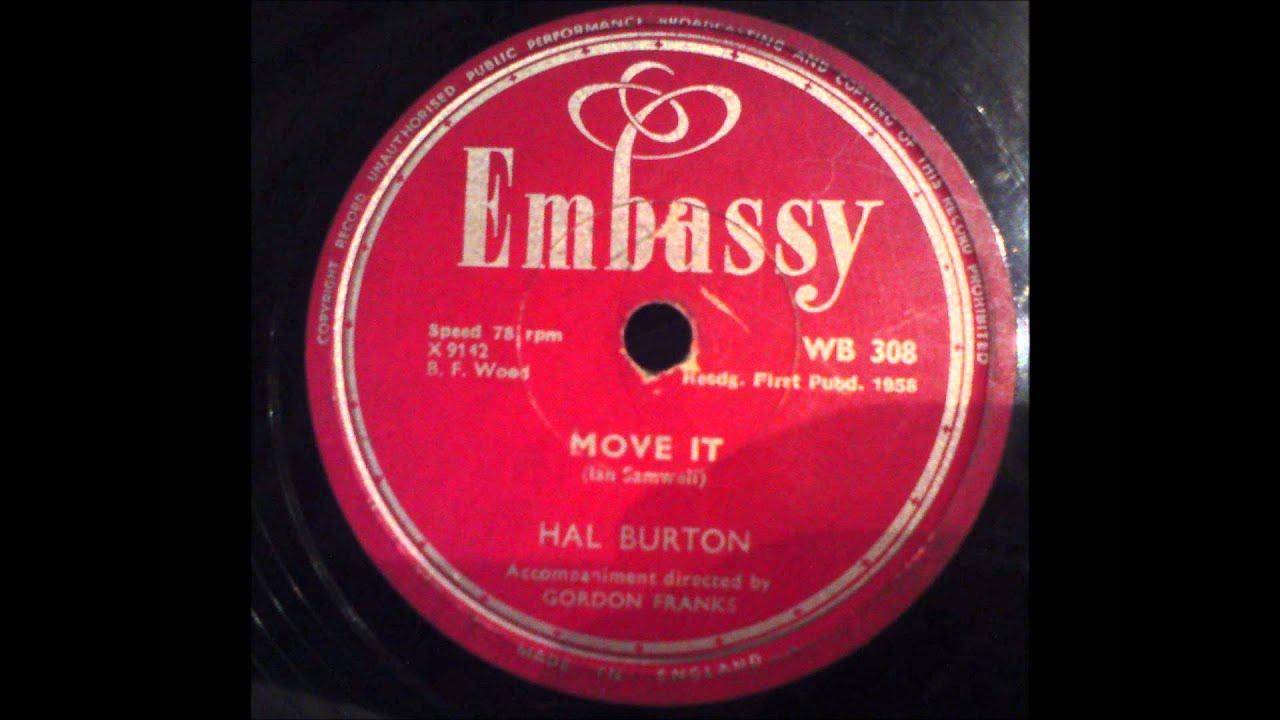 Hal Burton - Move It