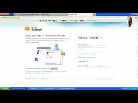 Conecta Hotmail Con Facebook - Chat