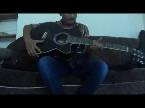 Mah brother jenish ..play with guitar  with ishq wala love ringtone
