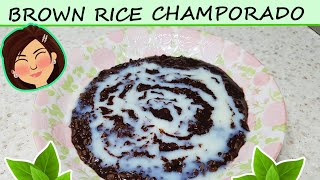 BROWN RICE CHAMPORADO (현미 코코아 …